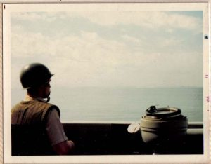 Bridge Lookout Yankee Station Vietnam 1972