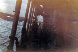 Corry at Sea 1971