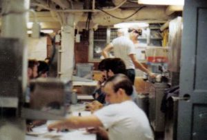 Mess Decks aboard Corry 1971_jpg