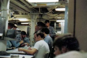 Mess Decks aboard Corry2 1971_jpg