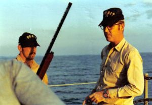 Small Arms fire from Forecastle Nov 1971_jpg