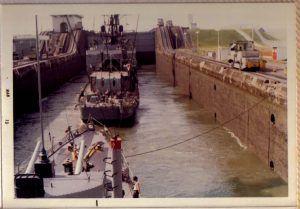 We followed the USS O'Hare through the canal_jpg